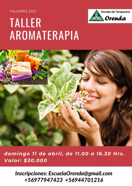 Informativo Aromaterapia 11 Abril